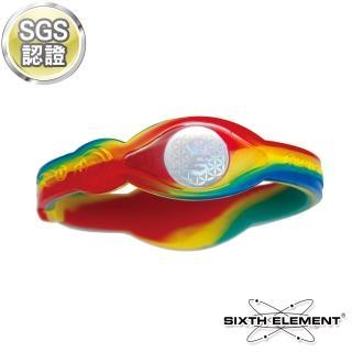 【第六元素】IEB負離子高能量手環(523 五色迷彩)