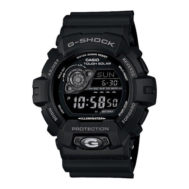 【CASIO 卡西歐 G-SHOCK 系列】太陽能電力運動錶(GR-8900A)