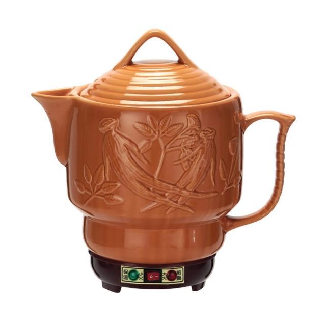 【婦寶】雙功能人蔘陶瓷煎藥電壺