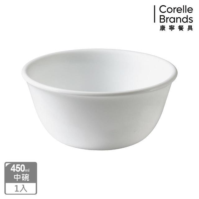 【CORELLE 康寧】純白450ml中式碗(426)