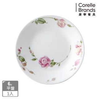 【CORELLE 康寧】田園玫瑰6吋平盤(106)