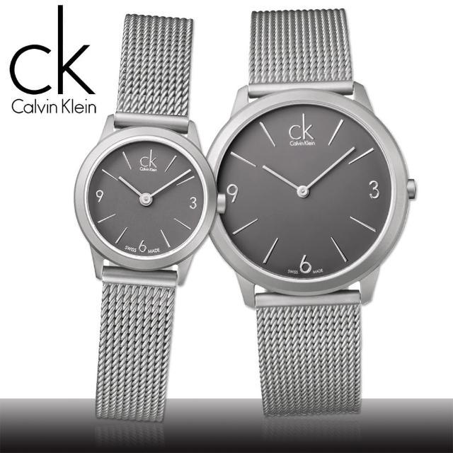【瑞士 CK手錶 Calvin Klein】時尚米蘭風中性腕錶(K3M53154-K3M51154-K3M52154)