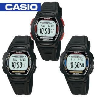 【CASIO 卡西歐】學生/青少年指定款電子錶(LW-201)