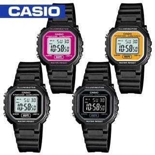 【CASIO 卡西歐】超人氣復古造型電子錶(LA-20WH)