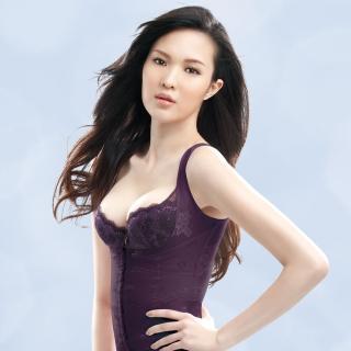 【華歌爾】深藏不露58-90防駝塑身衣(紫寶石)