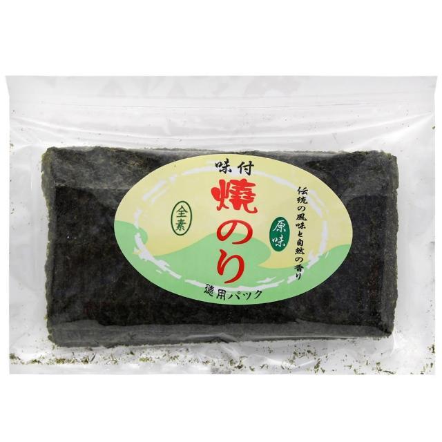 【雅瑪珂】味付半切海苔20枚-原味(30g)