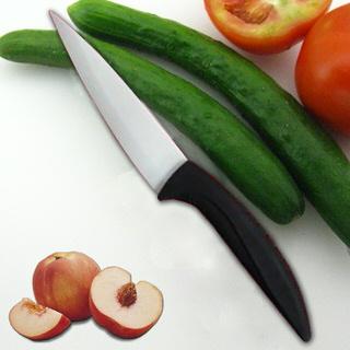 【德世朗】4吋陶瓷水果刀(黑)