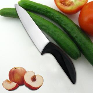 【德世朗】6吋陶瓷料理刀(黑)