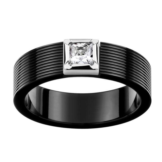 【ROYAL DAMON羅亞戴蒙】『謎樣.黑』戒指(大)