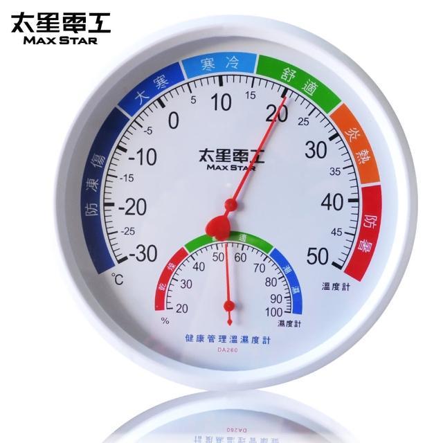 【太星電工】真安全 健康管理溫濕度計