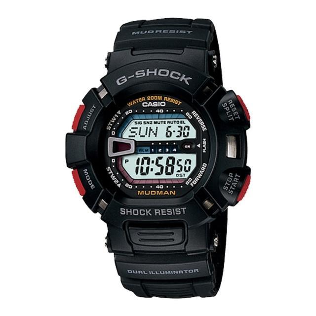 【CASIO 卡西歐 G-SHOCK 系列】吉普車戰士潮流數位錶(G-9000)