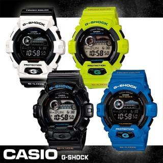 【CASIO 卡西歐 G-SHOCK 系列】電波錶-潮汐 月相 衝浪潛水運動錶(GWX-8900 系列)