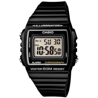 【CASIO 卡西歐】街頭潮流數位電子錶(黑-W-215H-1AVDF)