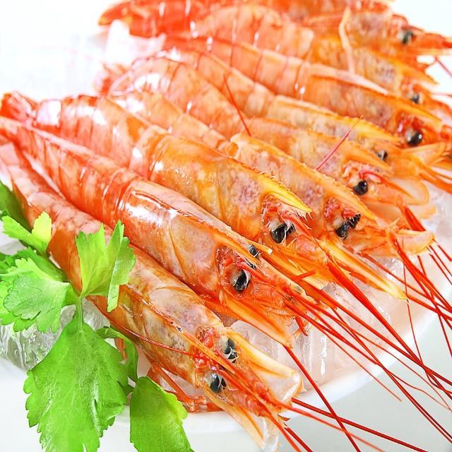 【華得水產】天使紅蝦1件組(2kg/盒/ 特大尾)