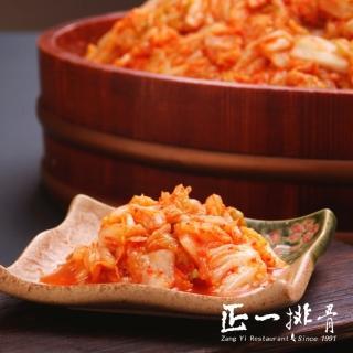 【正一排骨】部落客推薦 韓式泡菜12罐(700G/罐)