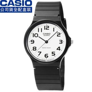 【CASIO】日系卡西歐薄型石英錶-白(MQ-24-7B2 全配盒裝)