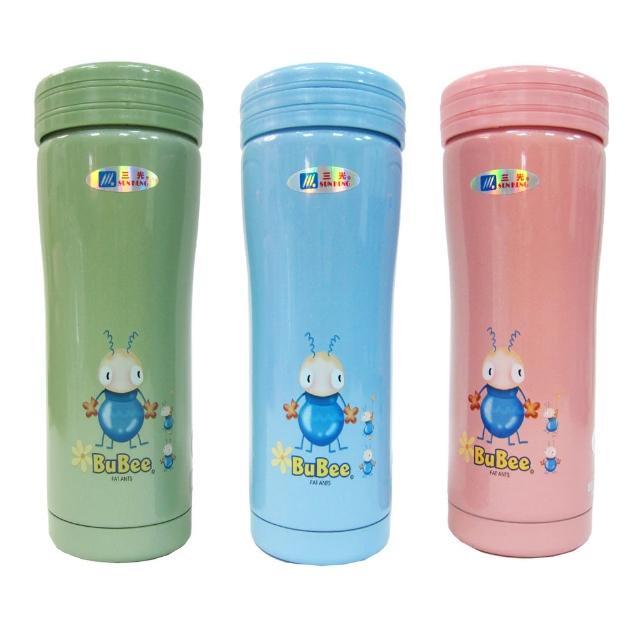 【三光牌】新妙用二層高真空不銹鋼休閒杯-0.35L×2入