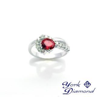 【約克鑽石】環繞愛尖晶石鑽戒(主石0.79ct)