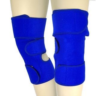 【藍色精靈】高科技神奇魔熱敷膝蓋套(一對)