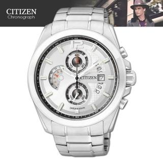 【CITIZEN 星辰】OXY系列月型視窗時尚型腕錶(AN3420-51A)