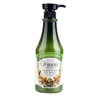 【Organia 歐格妮亞】草本綠茶沐浴乳750g(一般/中性/油性/敏感肌膚皆可使用)