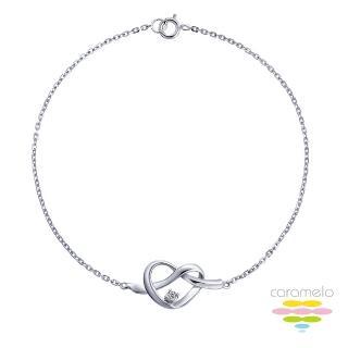 【彩糖鑽工坊】心有獨鍾系列 鑽石項鍊(K黃款 CL-PD58)