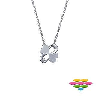 【彩糖鑽工坊】心有獨鍾系列 鑽石項鍊(K黃款 CL-PD55)