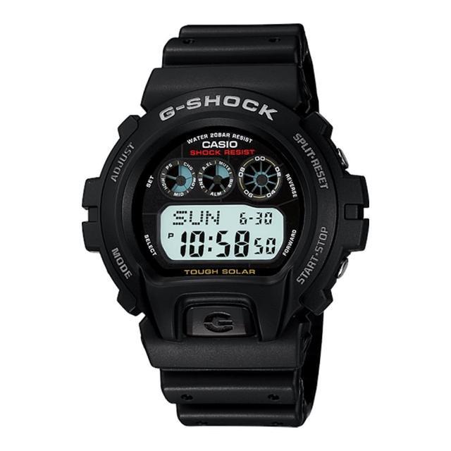 【CASIO 卡西歐 G-SHOCK 系列】當兵 學生首選-太陽能運動錶(G-6900)