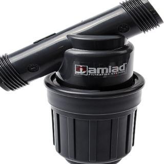 【灑水達人】以色列AMIAD 3/4吋130mesh更細的目數滴灌專用灌溉用過濾器(黑)