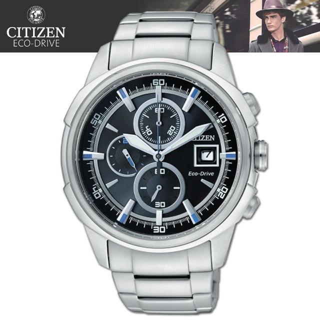 【CITIZEN 星辰】光動能時尚經典紳士腕錶(CA0370-54E)