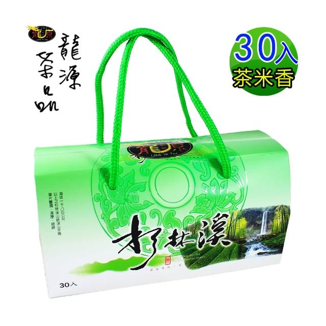 【龍源茶品】杉林溪高山烏龍茶包B禮盒(30包/盒)