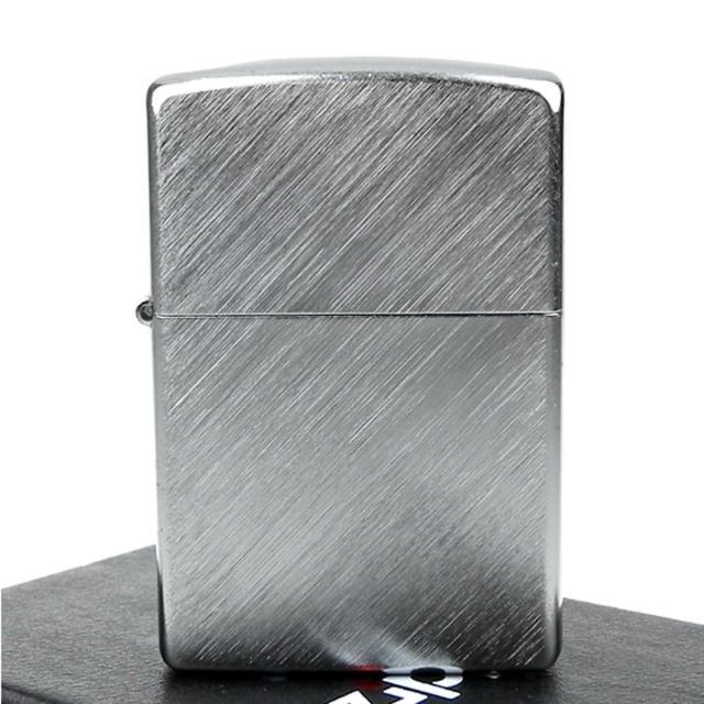 【ZIPPO】美系-Diagonal Weave-對角拉絲刷紋鍍鉻打火機