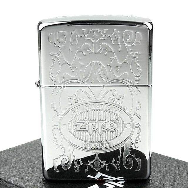 【ZIPPO】美系-Double Lustre加工-頂部Logo打印打火機