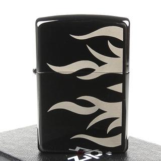 【ZIPPO】美系-Tattoo Flame-火焰雕刻雙面加工打火機
