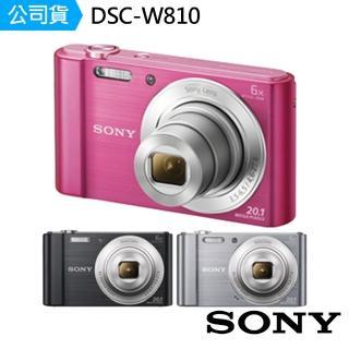 【SONY】W810 全景拍攝數位相機(公司貨)