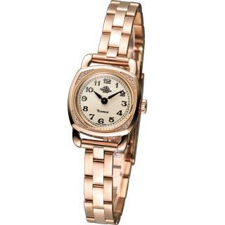 Rosemont 玫瑰錶 茶香迷你玫瑰時尚腕錶 - 米白x玫瑰金色/20mm (TRS-029-05MT)