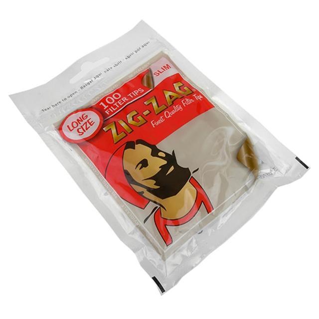 【ZIG-ZAG】法國進口捲煙專用6mm濾嘴-加長型*2包