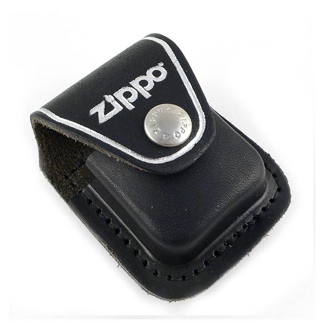 【ZIPPO】背夾式-打火機皮套(黑色款)