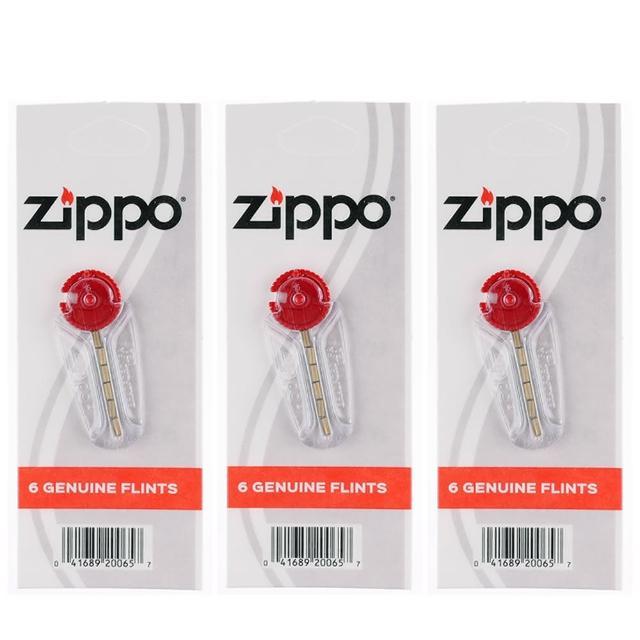 【ZIPPO】原廠打火石-3組優惠組合(一組6粒裝)