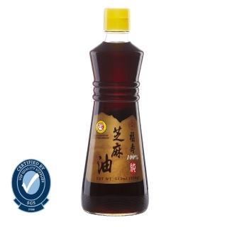 【福壽】100%純芝麻油-3KG