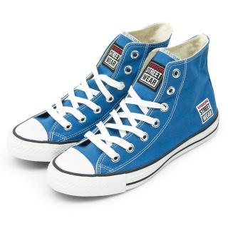 【VISION STREET WEAR】女 經典帆布鞋(藍 V22010)