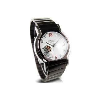 【Arseprince】城市旅人鏤空機芯中性錶(高雅咖x紅)