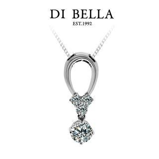 【DI BELLA】SPRING 0.50克拉八心八箭天然鑽石墜鍊