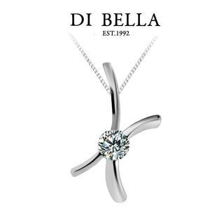 DI BELLA 專屬 0.30克拉八心八箭天然鑽石墜鍊