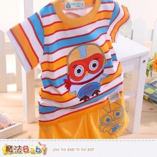 【魔法Baby】幼童短袖套裝-夏季短袖短褲外出服(k34202)
