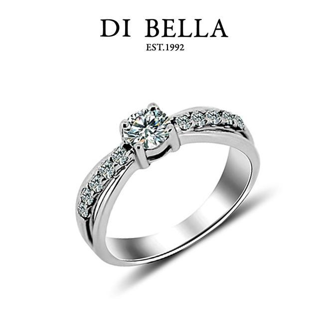 【DI BELLA】DREAM 0.30克拉奢華完美鑽戒