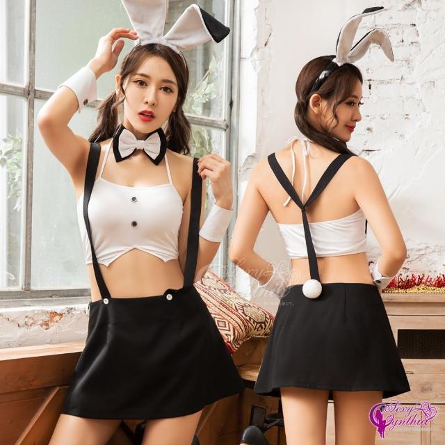 【Sexy Cynthia】性感兔女郎!六件式角色扮演服