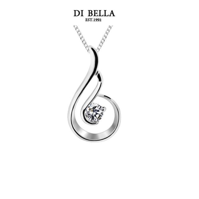 【DI BELLA】遇見0.30克拉經典美鑽項鍊