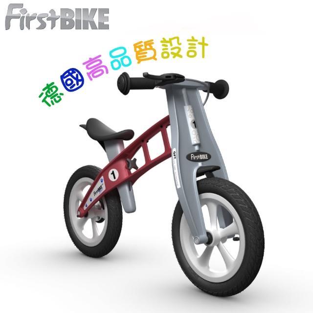 【FirstBike】德國高品質設計 寓教於樂-兒童滑步車/學步車(火箭紅)