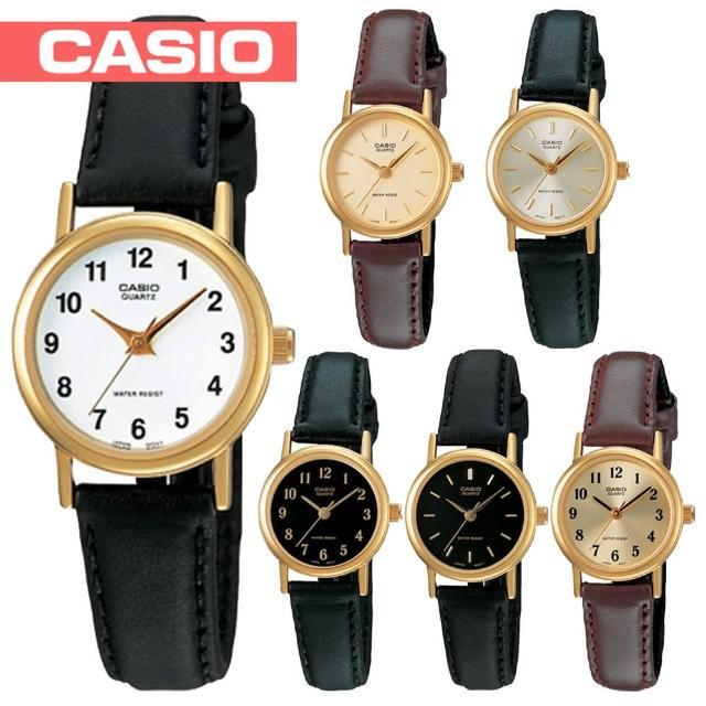 【CASIO 卡西歐】粉領階級/淑女石英腕錶 鏡面2.5cm-附錶盒(LTP-1095Q)